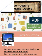 ICT Lesson-Storage Devices