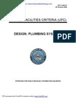 Design Plumbing Systems