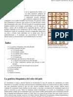 Color Del Pelo - Wikipedia, La Enciclopedia Libre