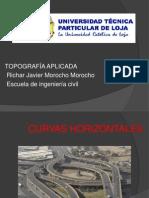 curvas horizontales