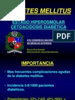 Crisis Hiperglicemicas Diabetes Mellitus