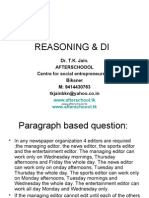 27 June Reasoning & DI II