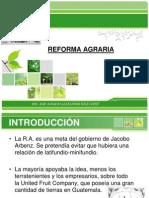 Reforma Agraria en Guatemala