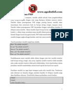 PHP_Variabel Dalam PHP