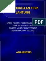 FISIK DIAGNOSTIK JANTUNG