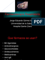 Farmacoterapia Respiratoria