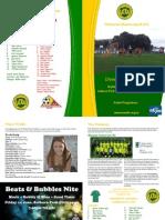 VUWAFC Programme 2013-5