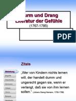 Deutsche Literaturgeschichte In Einer Stundevon Den ältesten