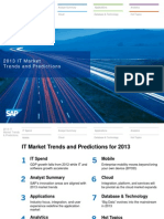 2013 IT Market - Trends and Predictions