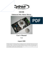 Users Manual Md30b