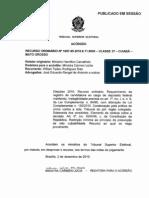 2 - ORGÃO COLEGIADO-TRIBUNAL DO JURI+TSE_RO 169.795