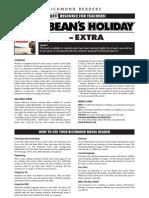 Worksheet Mr Beans Holiday