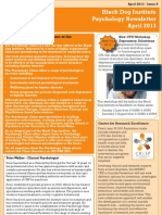 Psychology Newsletter April2013