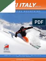 Dolomites Ski Tours Brochure - 2013/14