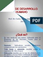 1. Indice de Desarrollo Humano