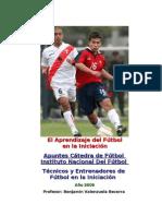 El Aprendizaje Del Futbol en La Iniciacion