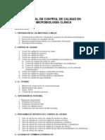 2013 Control de Calidad Micro