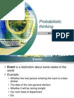 Probabilistic Thinking