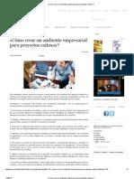 ¿Cómo crear un ambiente empresarial para proyectos exitosos_.pdf