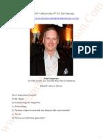 JACKSON V AEG May 29th 2013- Paul Gongaware-Trial Transcripts