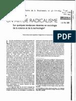 Gingras, Y. - Un Air de Radicalisme (1995) (2)