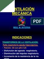 VENTILACIÒN MECANICA msq
