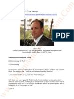 JACKSON V AEG May 23rd 2013- Shawn Trell-Trial Transcripts