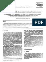 Y-polypeptides of B-Phycoerythrin Porphyridium Cruentum