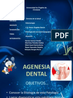 agenesia dental etiologia diabetes
