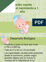 del nacimiento al primer año