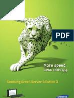Green Server Solution
