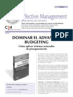 Dominar El Advaced Budgeting