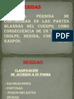 I.P.M. Clase Nº 5 HERIDAS