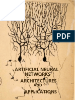 Artificial Neural Networks Architecture Applications