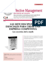 Las Siete Disciplinas Esenciales Para Crear Una Empresa Competitiva