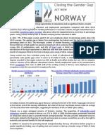 Closing the Gender Gap - Norway En