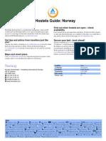 HI Hostels Guide Norway
