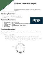 Rt Technique Evaluation Dwsi of 1 Inch Dia Pipe