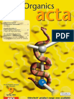 Acros Organics acta N°009