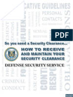 Security Clearance