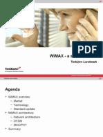 Presentation of Wimax Basic Intro