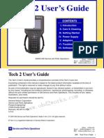 GM Tech 2 User Manual