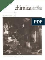 Aldrichimica Acta Vol 01 N°1