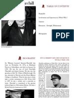winston churchill booklet
