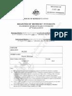 House Committee Pmi Declarations K Rudd 43p