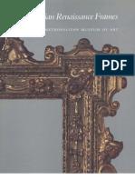 Italian Renaissance Frames