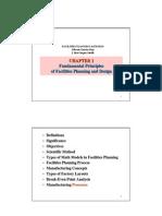 Fundamental Principles of Facility Loca