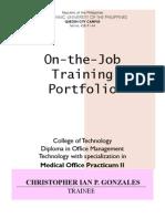 Portfolio PracticumII(IAN)