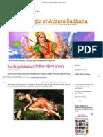 December 2011 _ Apsara Sadhana _ Yakshini Sadhana.pdf