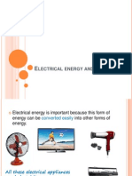 2.5 Electrical Energy and Power